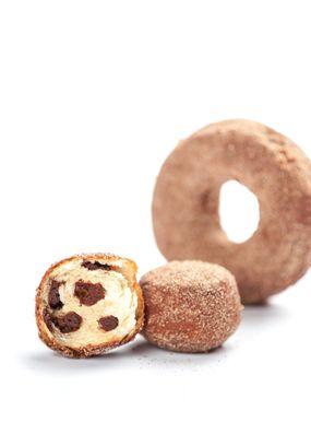 DONUTS AUX CHIPS DE CHOCOLAT