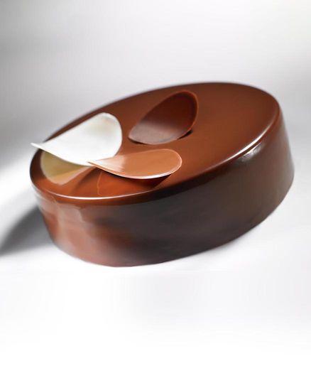 Entremets Trois chocolats