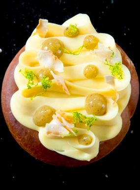 Brioche with Passion Fruit Inspiration Cheesecake