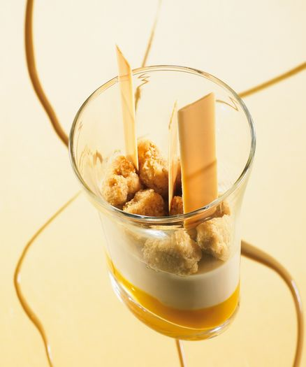 DULCEY AND EXOTIC MARMALADE PANNACOTTA