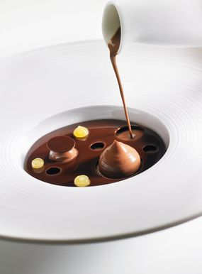 Chocolate Citrus Velouté