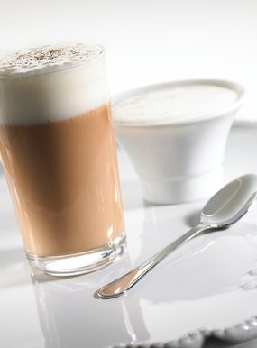 Cioccolato caldo al caffé, nuvola di cardamomo