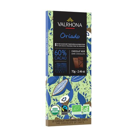 valrhona.com-Tablette Pure Origine Oriado 60%