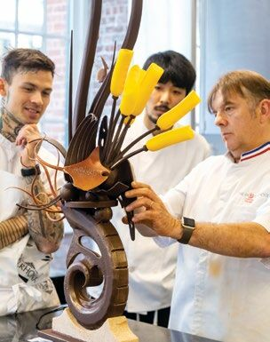 Artistic Chocolate Showpieces Class