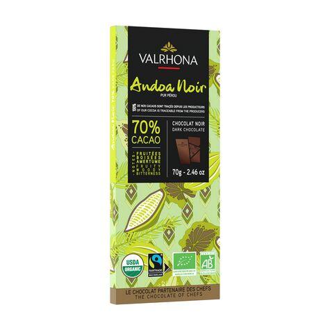 valrhona.com-Tablette Pure Origine Andoa Noir