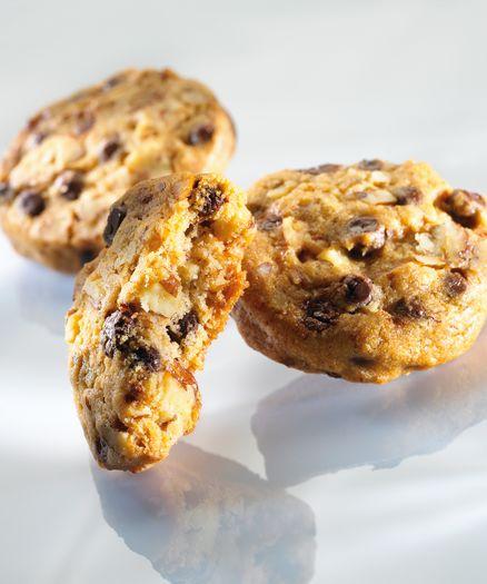Cookies aux perles de chocolat noir