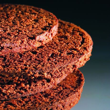 Cocoa Chocolate Sacher Sponge Biscuit