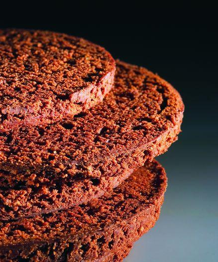 Cocoa Chocolate Sacher Sponge Biscuit