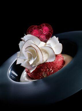 Valentine's Plated Dessert