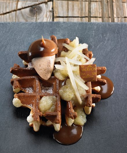Apple & Fennel Waffle