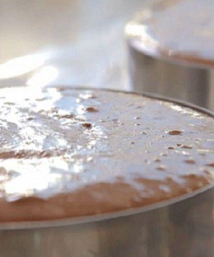 Mousse au chocolat Guanaja à base de pâte à bombe
