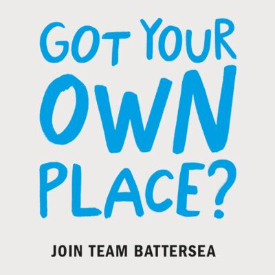 Got your own place?