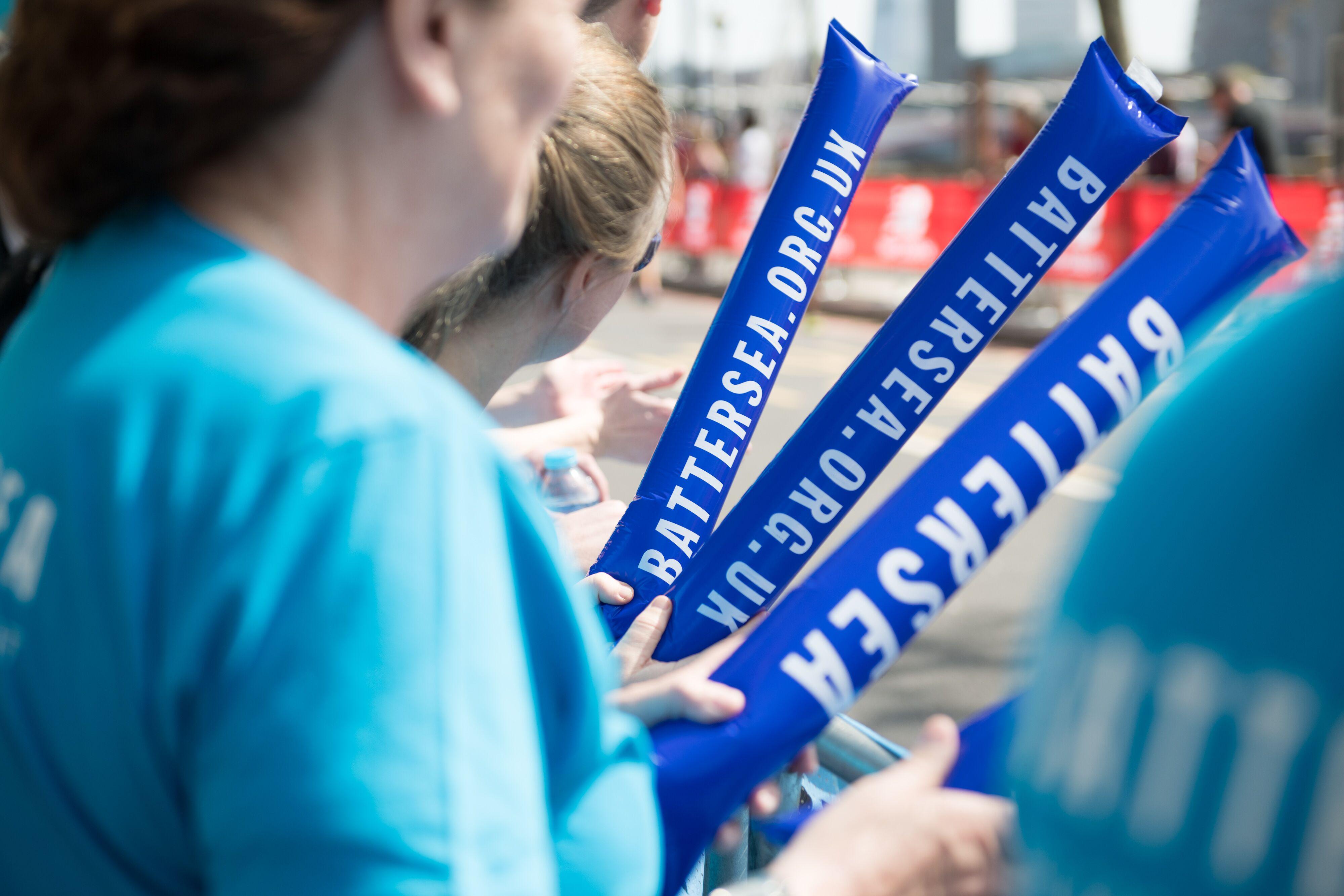 London Landmarks Half Marathon Cheer Team
