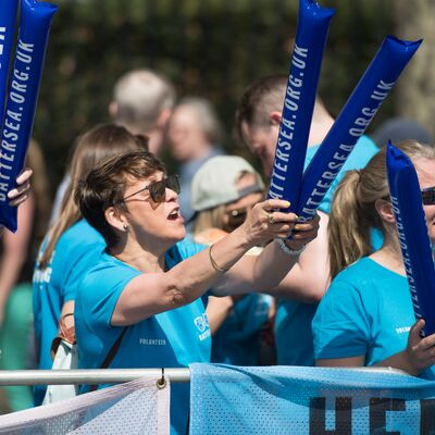 Join Team Battersea's Cheer Squad