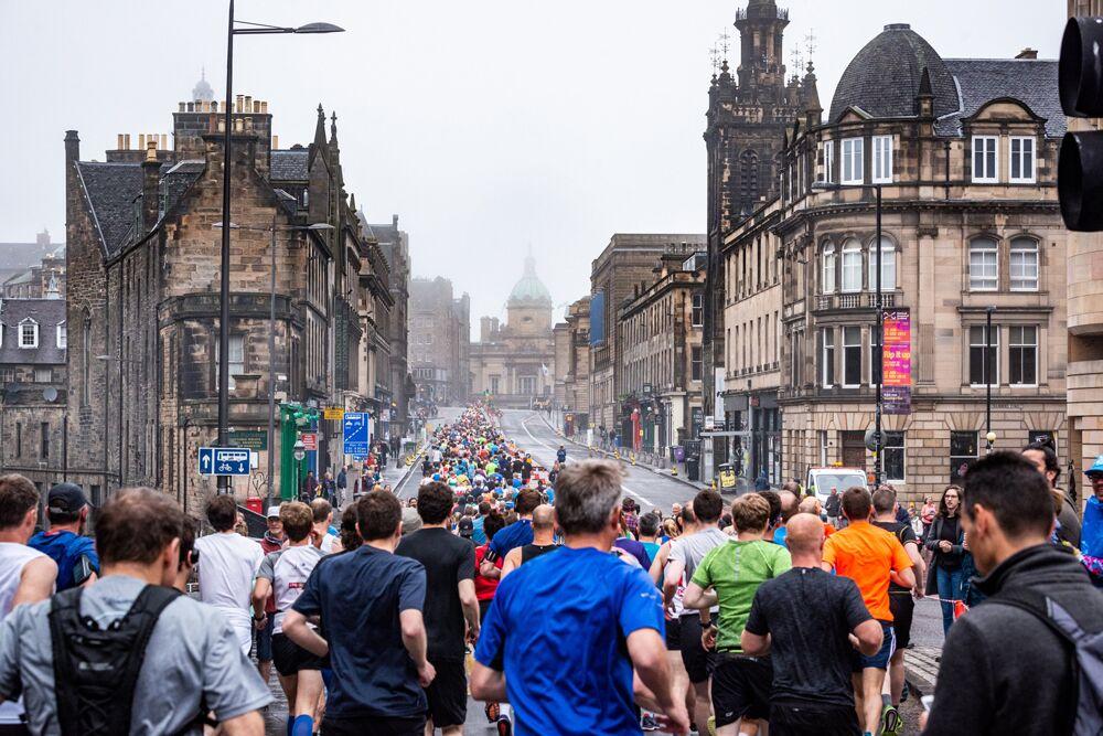 The Edinburgh Marathon Route