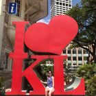 Claire Somers in Kuala Lumpur