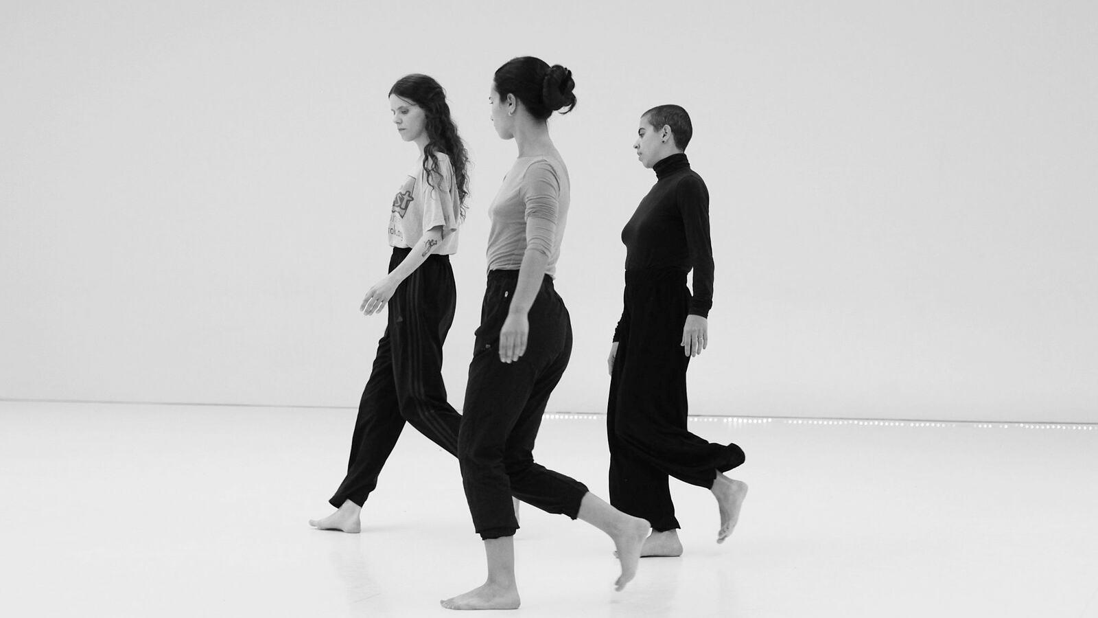 Contemporary Dancers performing at Jean Abreu Dance