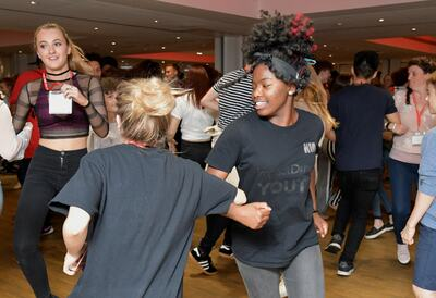 U Dance: Youth Dance Ceilidh, ceilidh dancers
