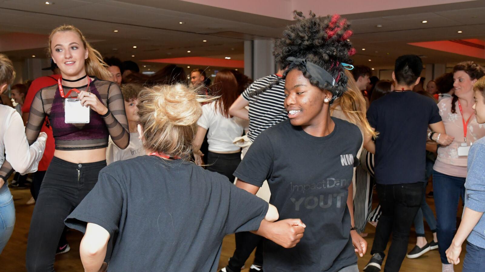 U Dance: Youth Dance Ceilidh, ceilidh dancers