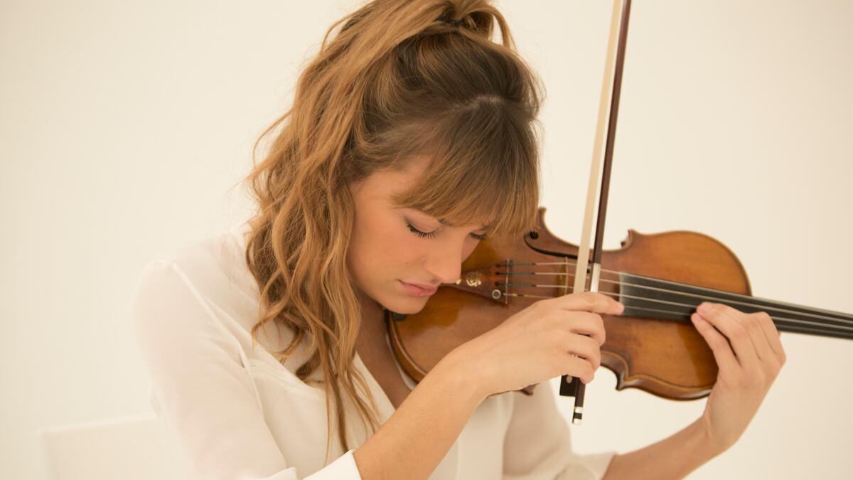 Portrait of Violinist, Nicola Benedetti