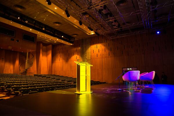 Purcell Room - Commercial event set up