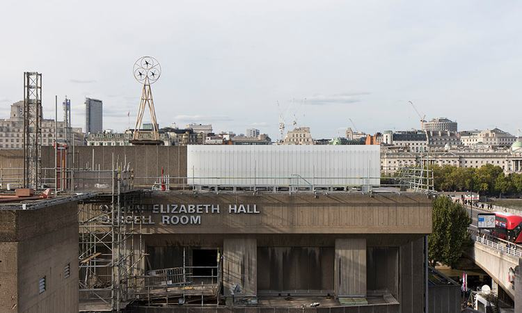 October 2017 - refurbishment of Hayward Gallery, Queen Elizabeth Hall and Purcell Room