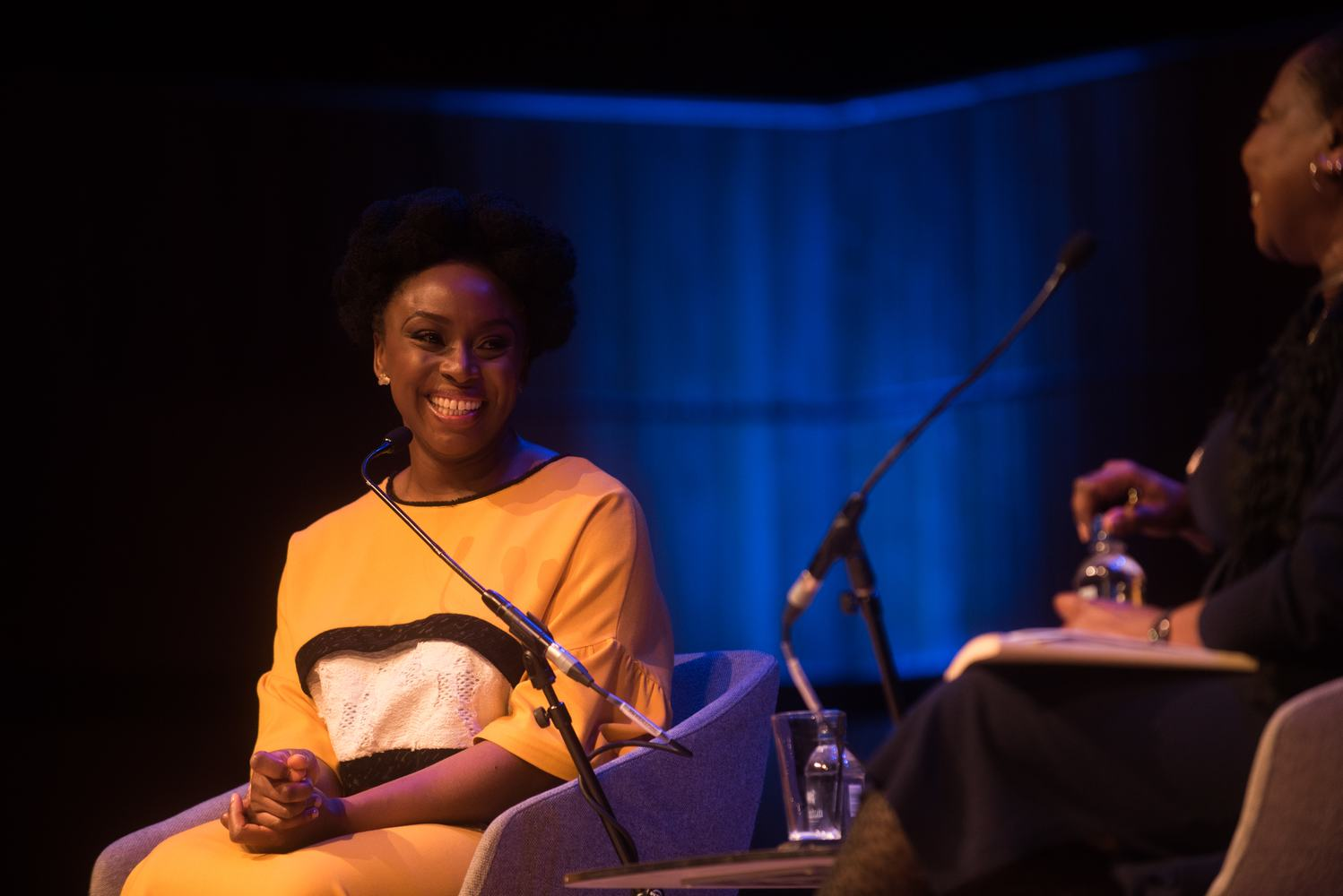 Chimamanda Ngozi Adichie and Reni Eddo-Lodge in conversation