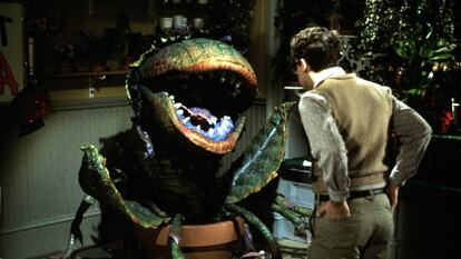 Film still from Little Shop of Horrors (1986)