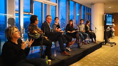 Jazzworks panel at Southbank Centre