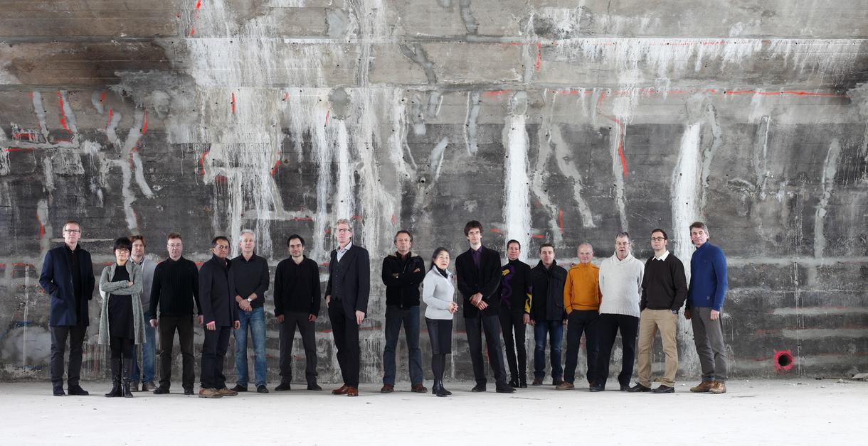Ensemble Modern,  Gruppenfoto, Frankfurt am Main