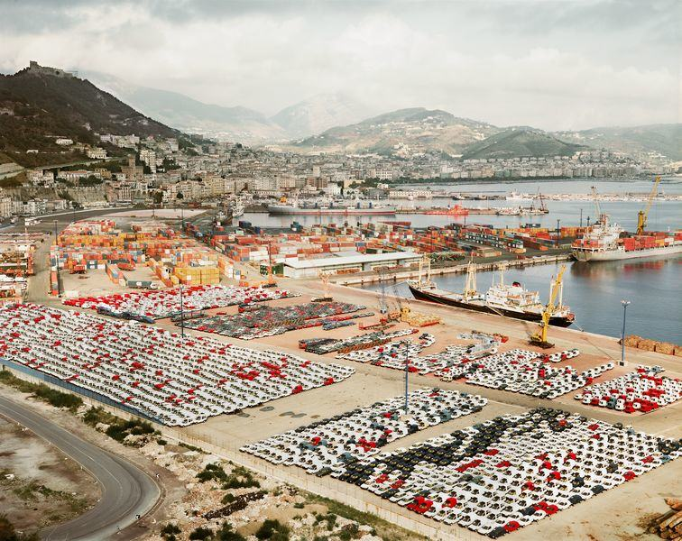 Salerno I by Andreas Gursky