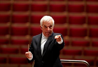 Vladimir Ashkenazy, conductor