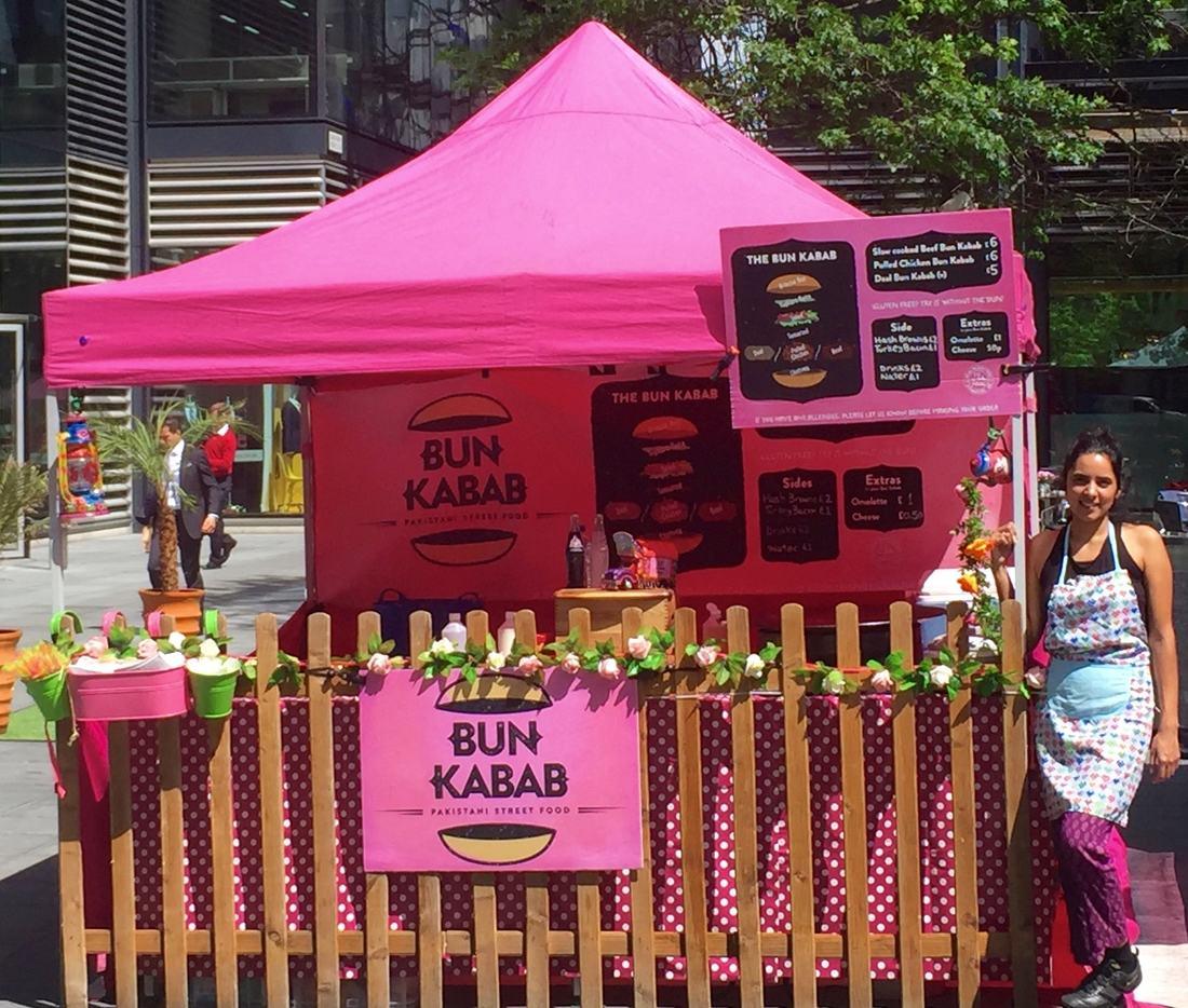 Bun Kabab Stall Image