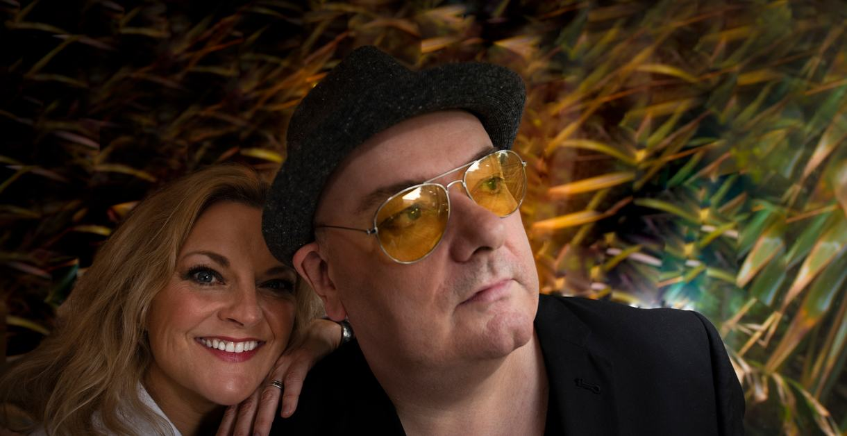 Ian Shaw and Claire Martin, musicians