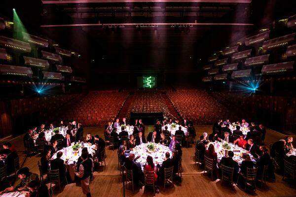 Chairwoman's Dinner 2019 in the Royal Festival Hall Auditorium