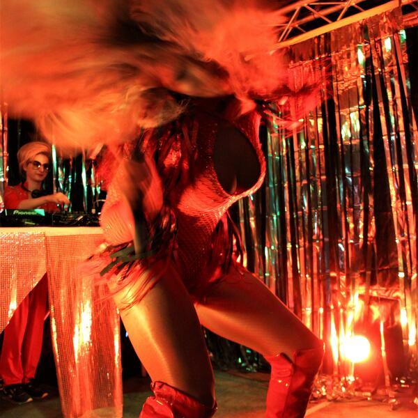 LGBTQIA+ performance organised by Raze Collective