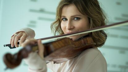 Lisa Batiashvili. violinist