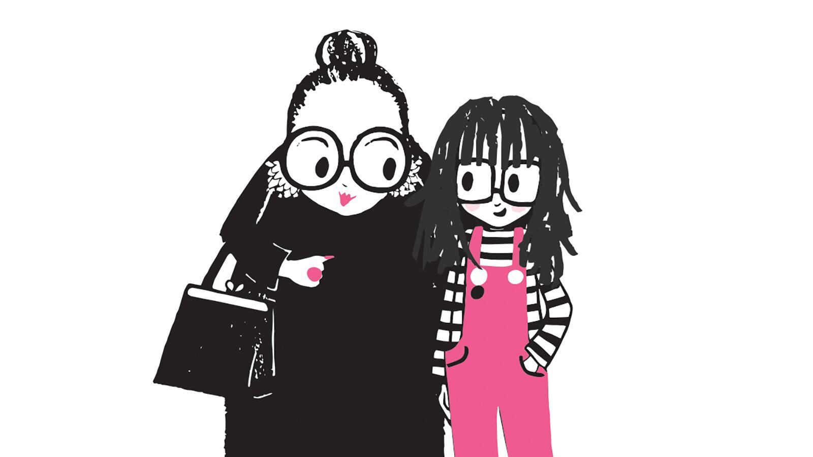Bad Nana illustration