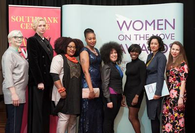 Influential women at the Women on the Move Awards