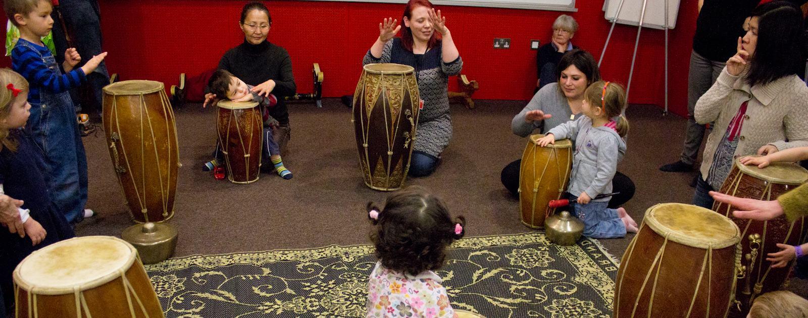 Dragon Babies - Gamelan for 3-5 year olds, Gamelan Room