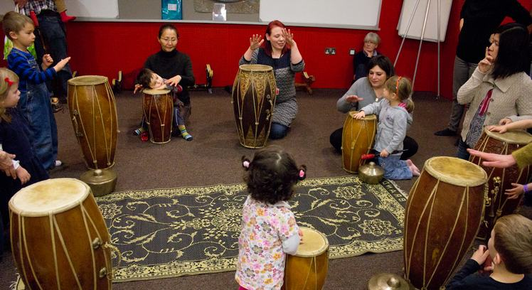 Dragon Babies - Gamelan for 3-5 year olds, Gamelan Room