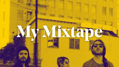 Promotional image for the Italian band JoyCut who put together a mixtape of their favourite tracks for Southbank Centre
