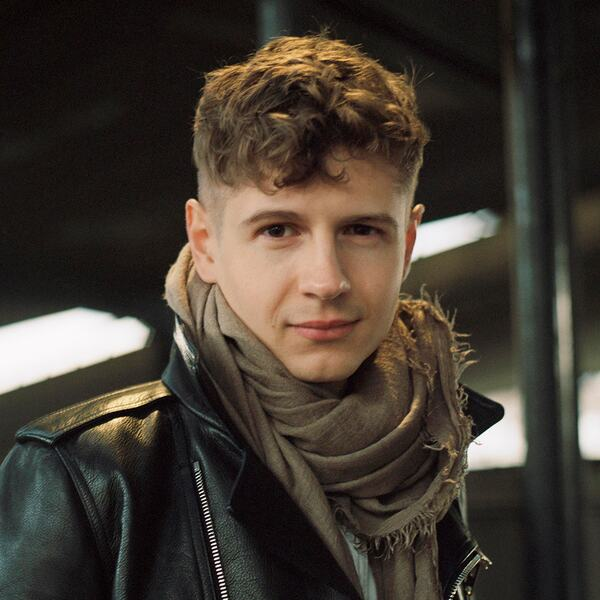 Portrait of pianist Pavel Kolesnikov