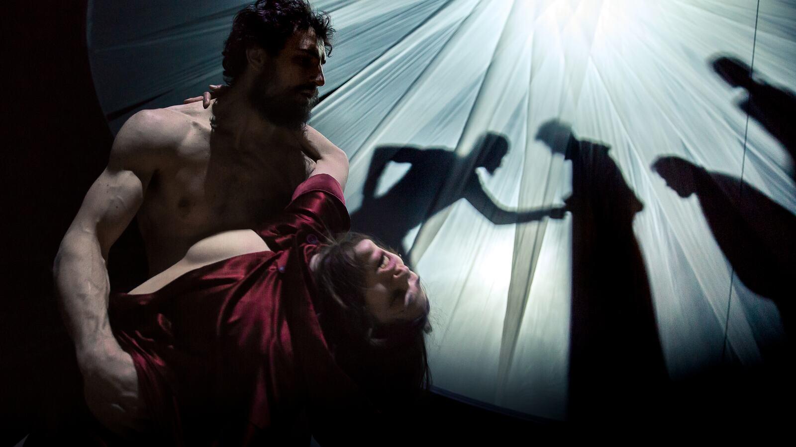 Mockumentary of a Contemporary Saviour on stage