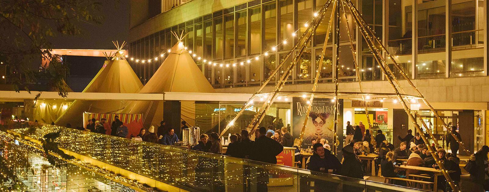 The Circus Bar at Southbank Centre