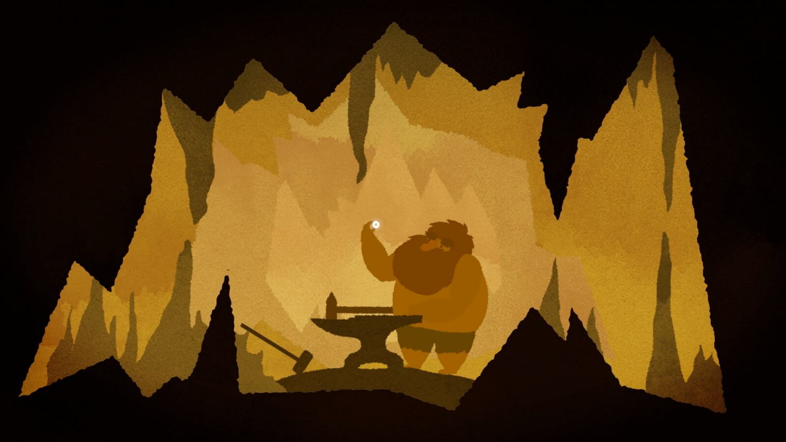 Still from an animation about Wagner's Ring Cycle