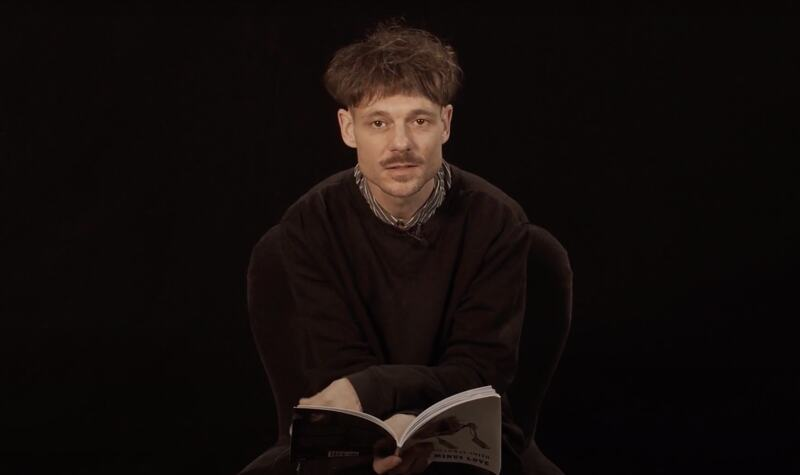 Wayne Holloway-Smith; poet shortlisted for the 2020 TS Eliot Prize reads from his shortlisted work