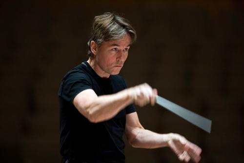 Esa-Pekka Salonen. Principal Conductor and Artistic Advisor. Philharmonia Orchestra. Royal Festival Hall