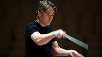Esa-Pekka Salonen. Principal Conductor and Artistic Advisor. Philharmonia Orchestra. Royal Festival Hall