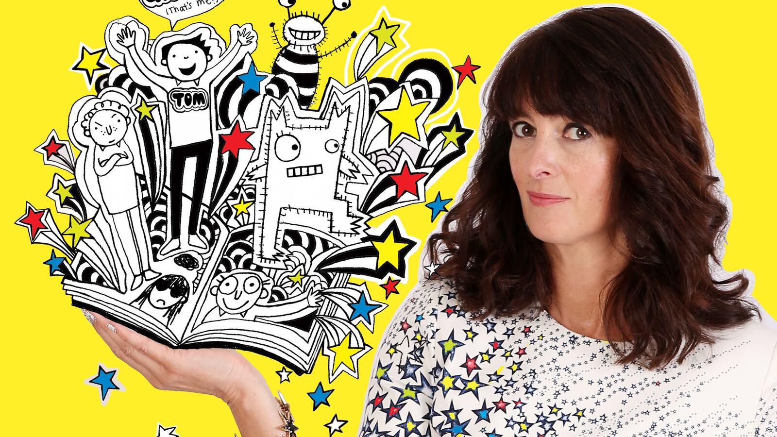 Liz Pichon, British illustrator